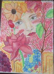 AS DELICATE FLOWER