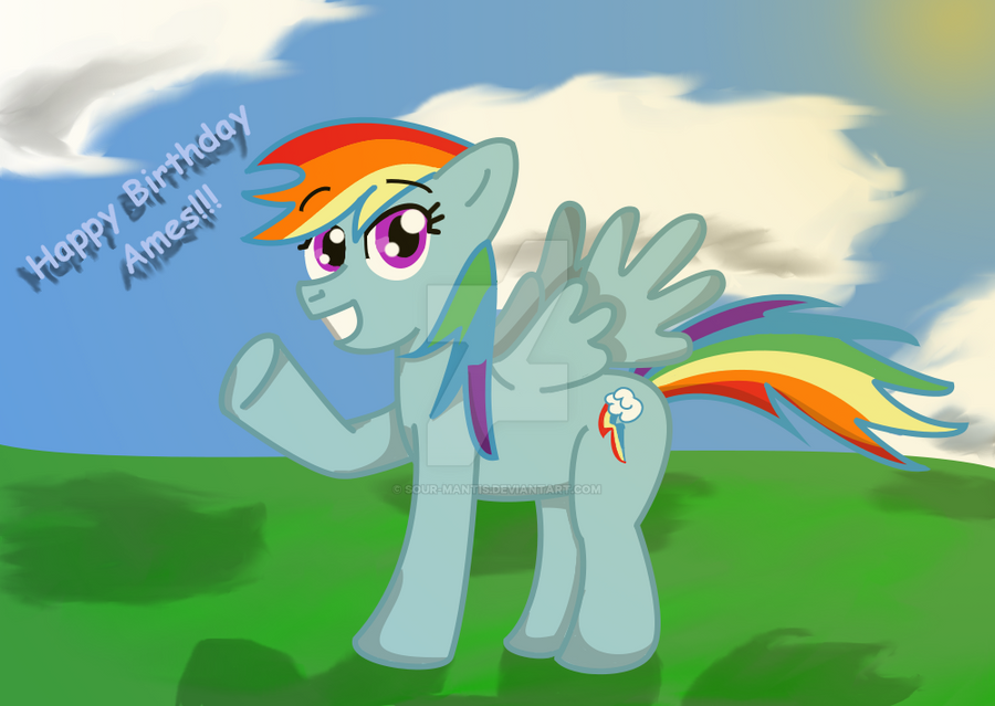 ((G)) - Rainbow Dash -For Lollygagger1999 by SoUr-MaNtIs