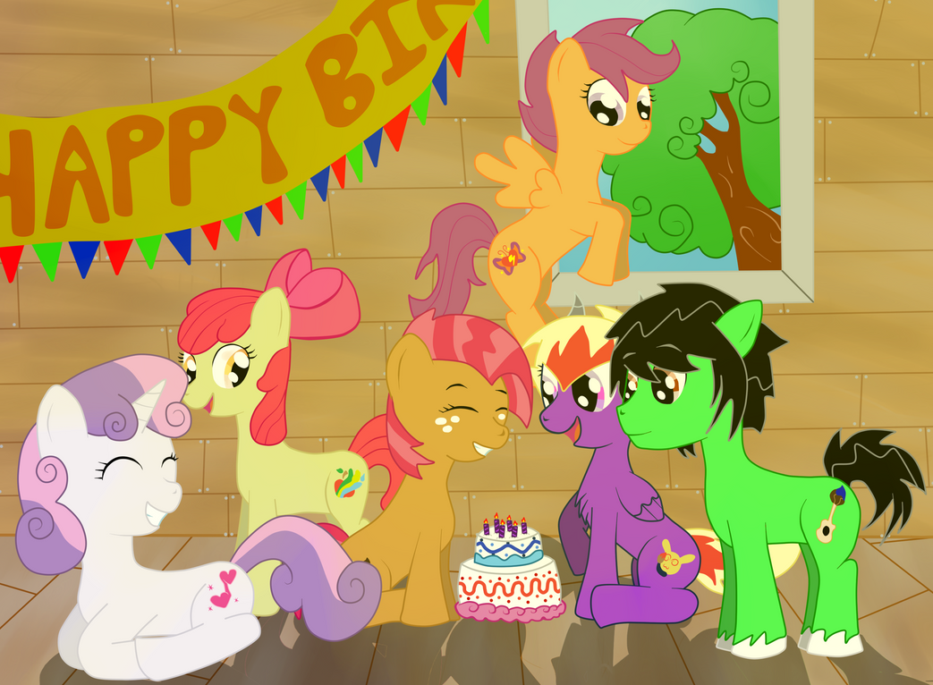 Birthday In A Treehouse by SoUr-MaNtIs