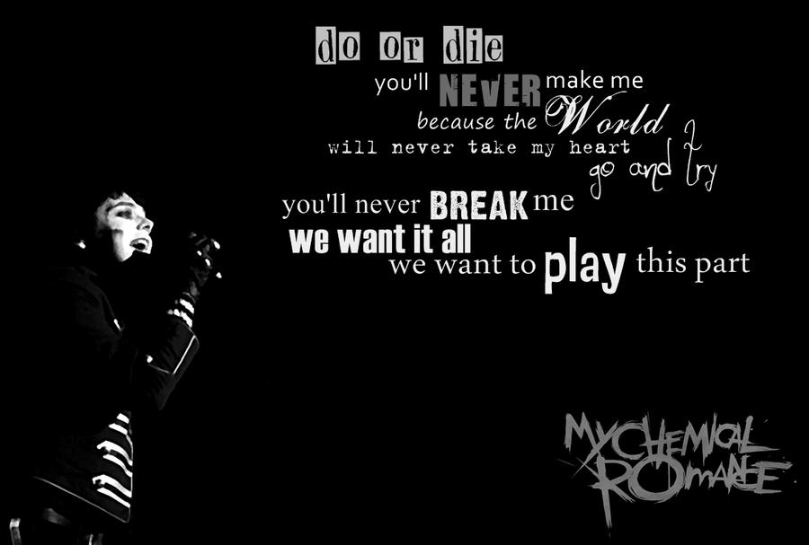 The Black Parade Wallpaper By 333Miami333