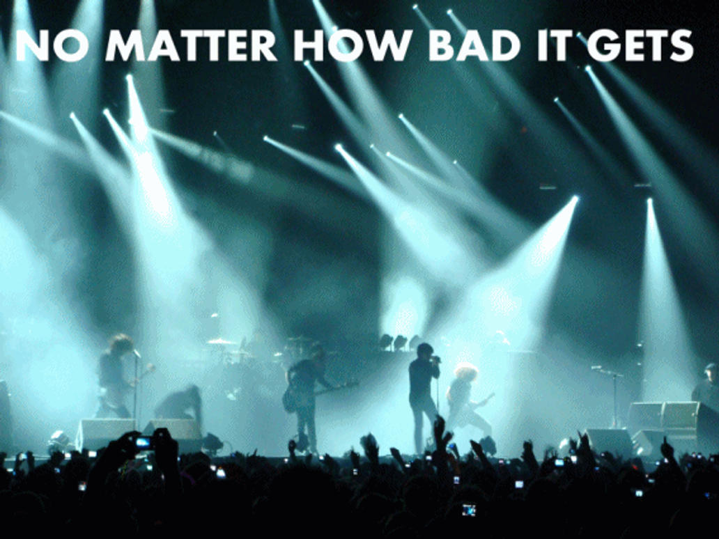 Don't Give Up, Gerard Way Quote. Gif By 333Miami333 On