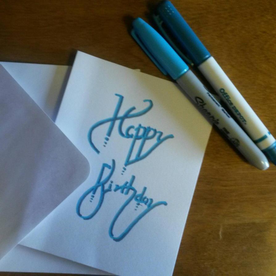 Happy Birthday by DarkMageComet