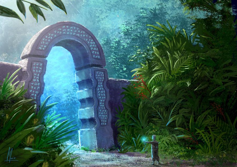 Portal dimensional by Patxitoillustrator