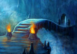 Ice cave by Patxitoillustrator