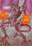 Armoured Crimson Dragon