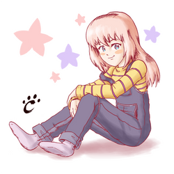 Nagisa (Draw-this-in-your-style-Contest Entry) by TrickyPhantom