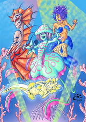 Seabed Sirens by TrickyPhantom
