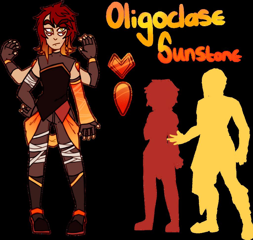 Oligoclase Sunstone