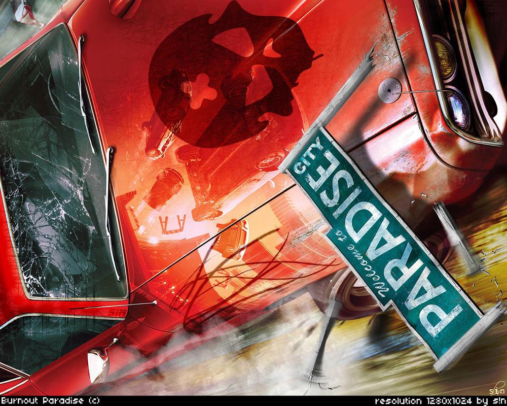 Burnout Paradise Car Game