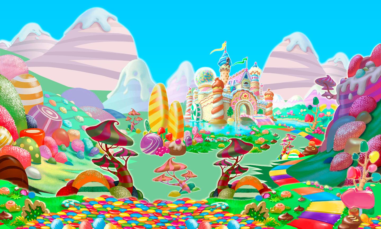 Super Candyland Board Background By Wyldfantasyx On DeviantArt