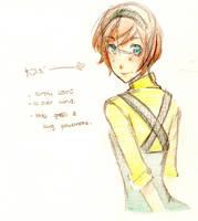 Yotsuba // OC for Pokemon Fanfic by iChoulicio