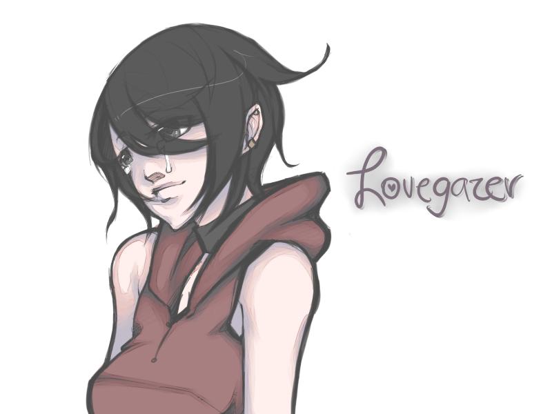 Lovegazer : for you - by iChoulicio