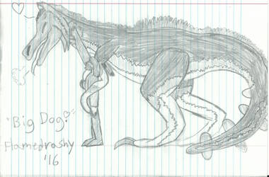 Big Dog by IcetheWarriorMage