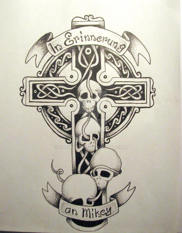 celtic cross in german by snowtraz on deviantart rh snowtraz deviantart com german sleeve tattoo designs german eagle tattoo designs