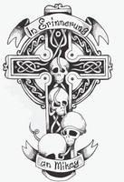 Vectorized Celtic Cross by Snowtraz