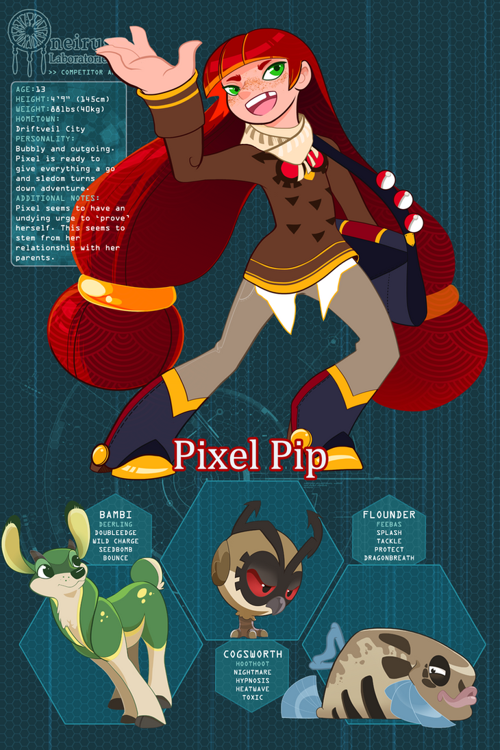 Pixel Pip - PDL Application by Scribble-Nest