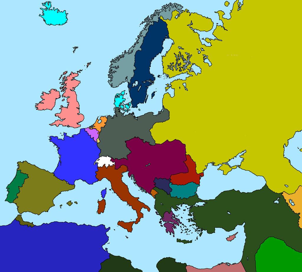 map of europe in 1912 Europe in 1912 by LaplandAr on DeviantArt