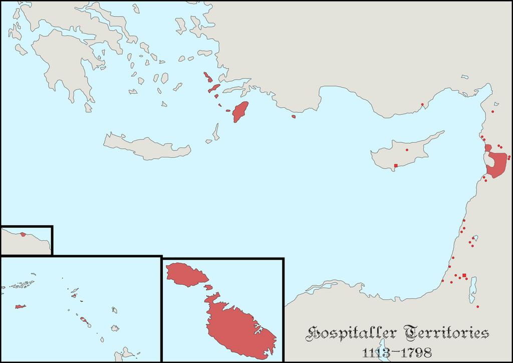 Hospitaller Territories by LaplandAr