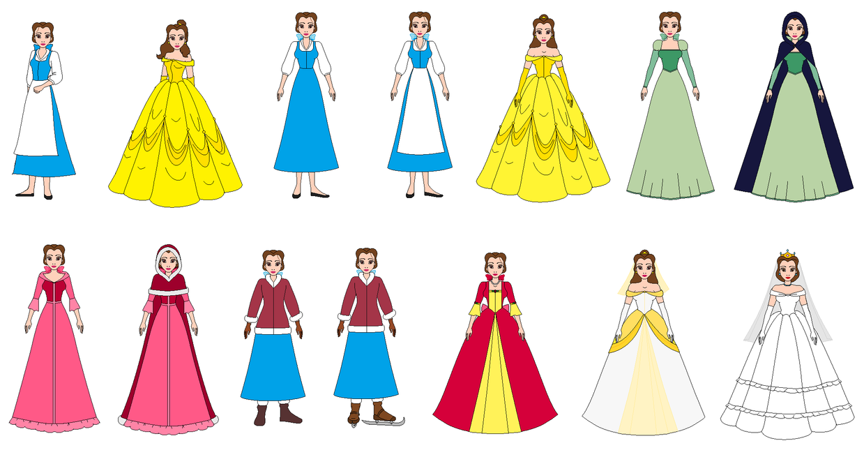 Belle all Dress by PPsantos1989