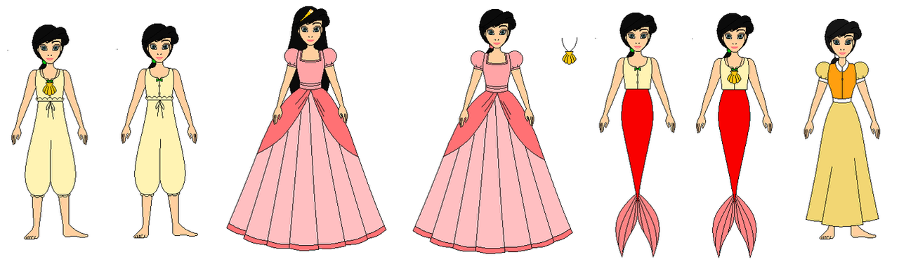 Melody In All Dresses By Ppsantos1989 On Deviantart