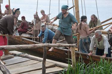 Vikings in Wolin by Wirikos