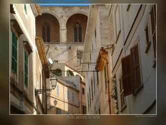 Side street in Arta by Wirikos