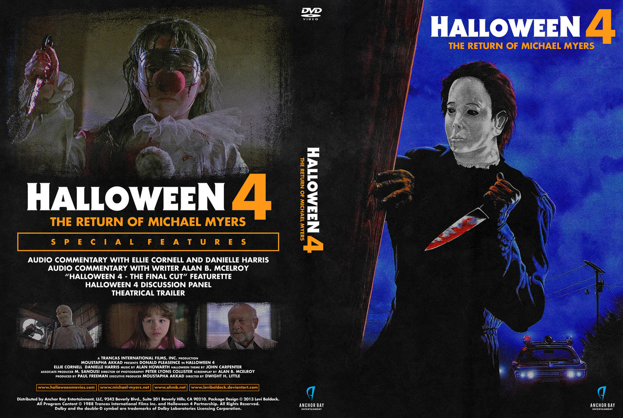 Halloween 4: The Return of Michael Myers (DVD) by Levtones on ...