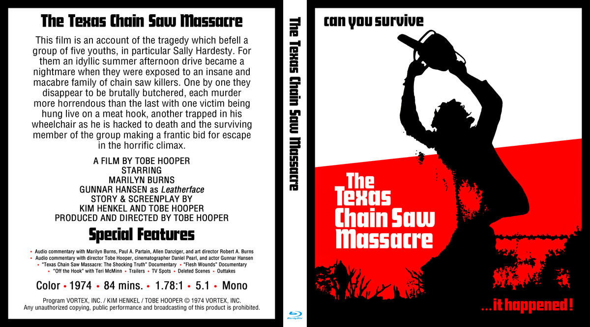 (Blu-ray) The Texas Chain Saw Massacre by LeviBoldock