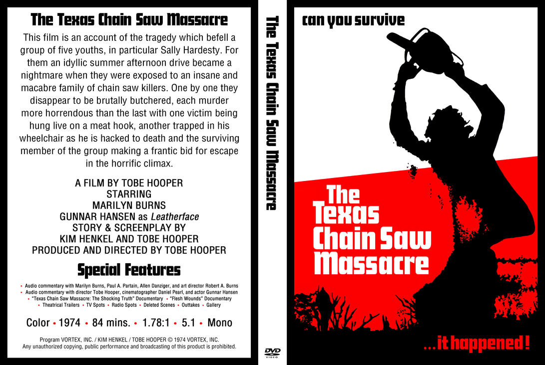 (DVD) The Texas Chain Saw Massacre by LeviBoldock