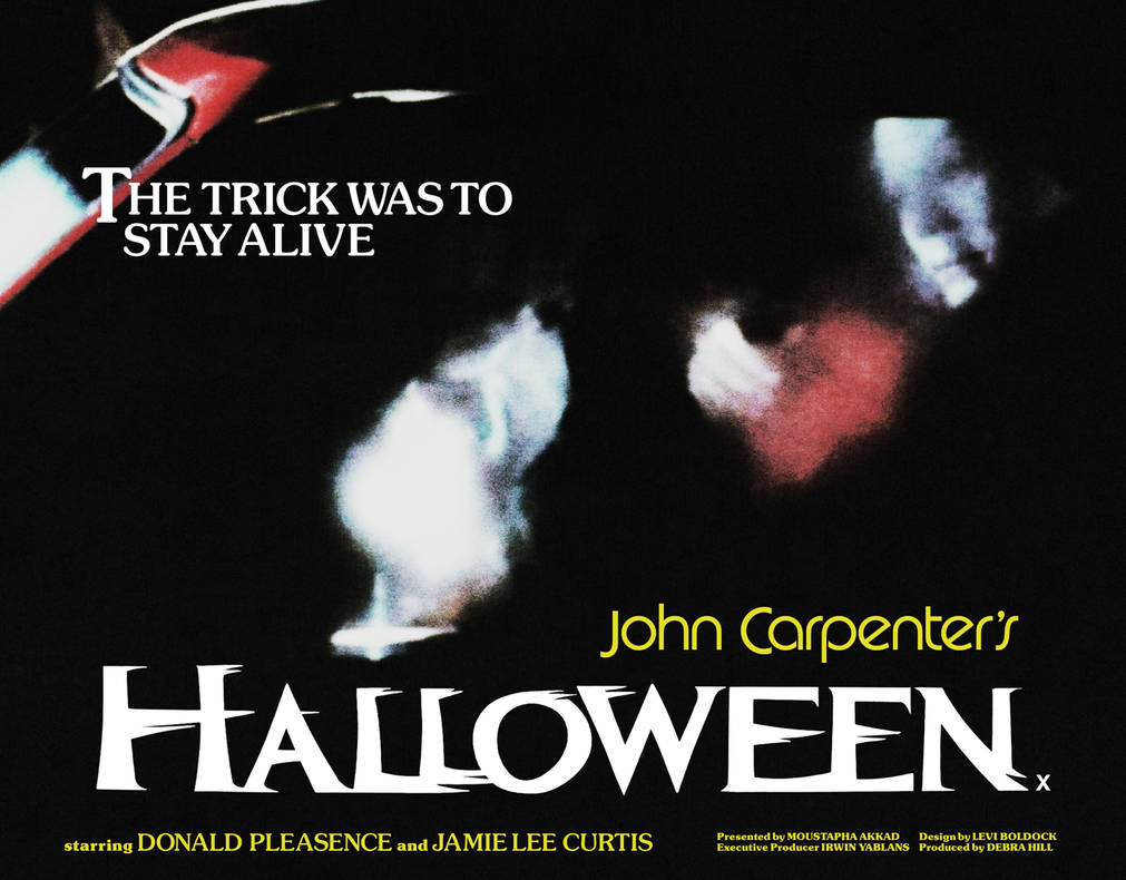 Halloween 1978 Movie Poster.Halloween 1978 Quad Poster By Levtones On Deviantart