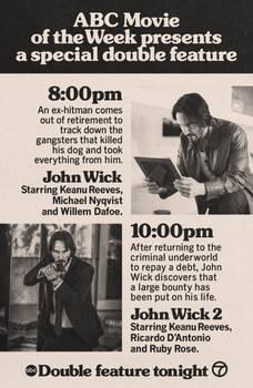 John Wick (2014) and John Wick: Chapter 2 (2017)
