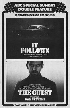 It Follows (2014) and The Guest (2014)