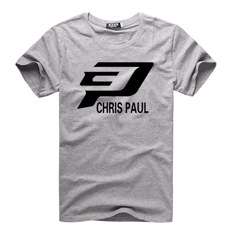 Los Angeles Clippers Chris Paul CP Logo T Shirt By Cosplaysky123