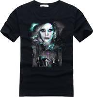 Lady Gaga classical poster logo t shirt by cosplaysky123