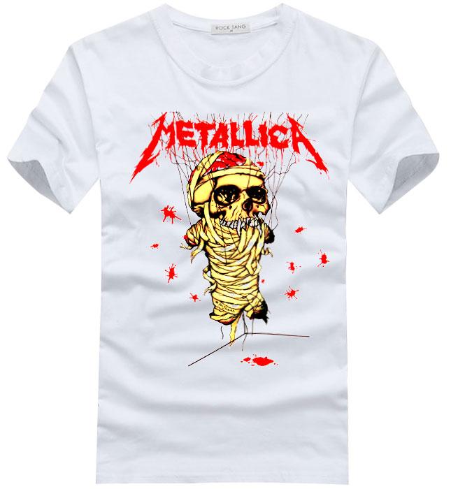 metallica skull logo short sleeve t shirt by cosplaysky123. Black Bedroom Furniture Sets. Home Design Ideas