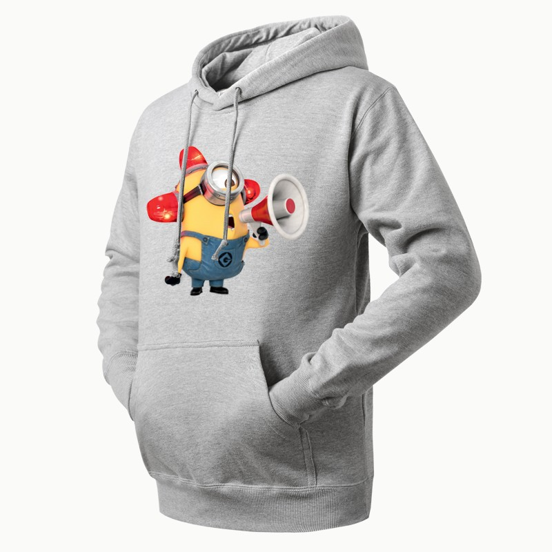 despicable me 2 more minions fire alarm hoodie by