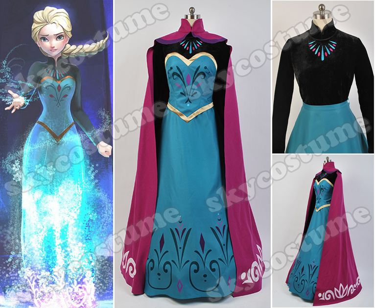 : costumes frozen elsa  - Germanpascual.Com