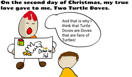 Two Turtle Doves Comic by SuperJets