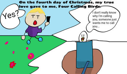 Fourth Day of Christmas (Comic) by SuperJets