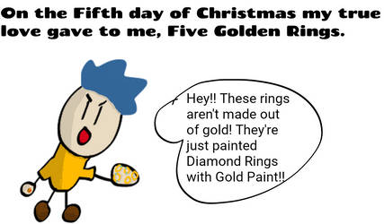 Five Golden Rings Comic by SuperJets