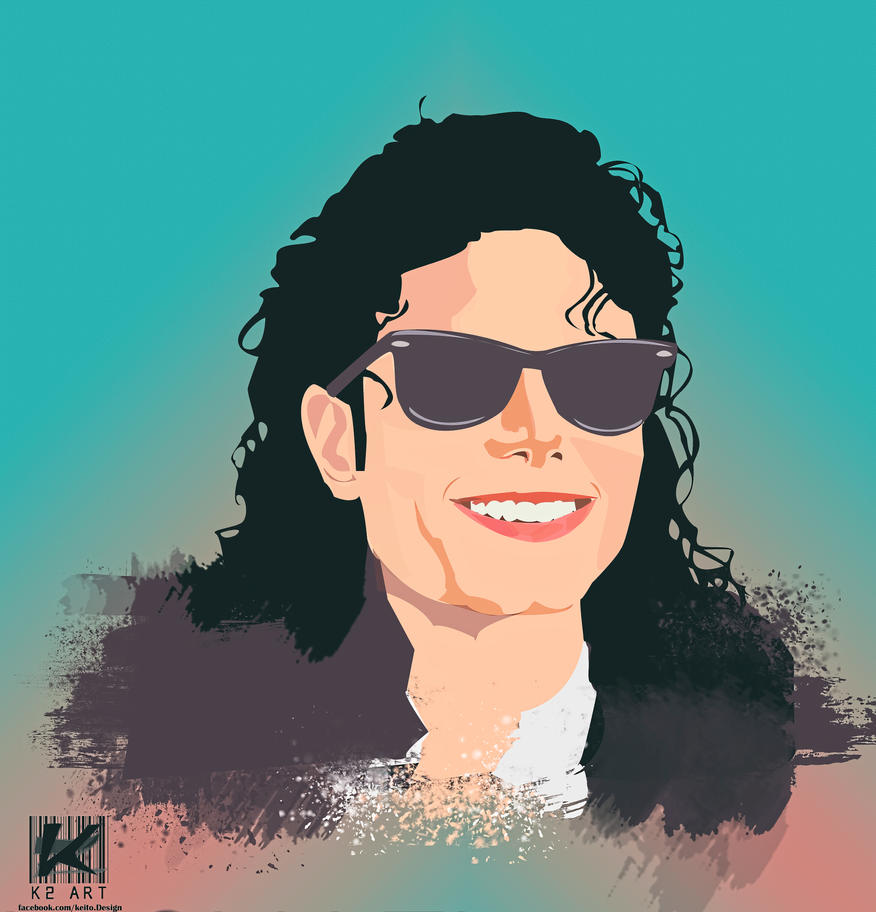 MJ Tribute - king of POP by ktwo-egypt