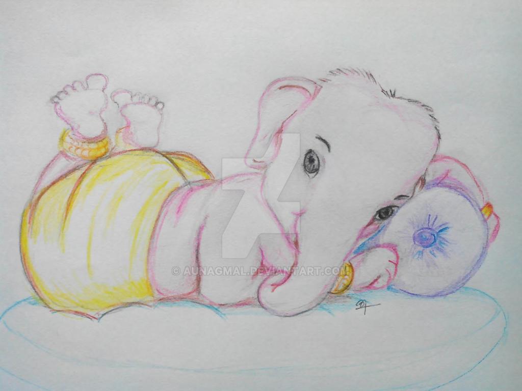 baby ganesha by aunagmal on deviantart