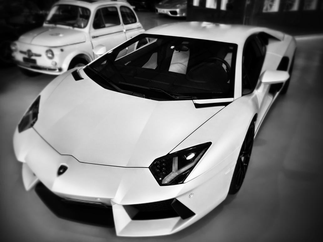 Lamborghini Aventador by cjeccybut