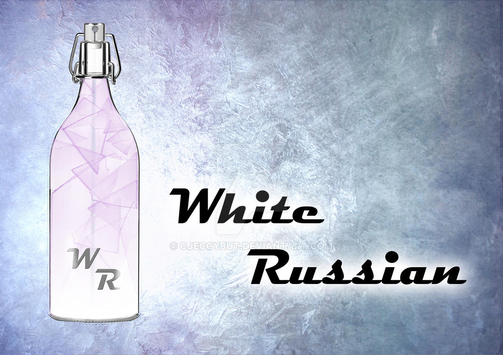 White Russian Perfume AD by cjeccybut