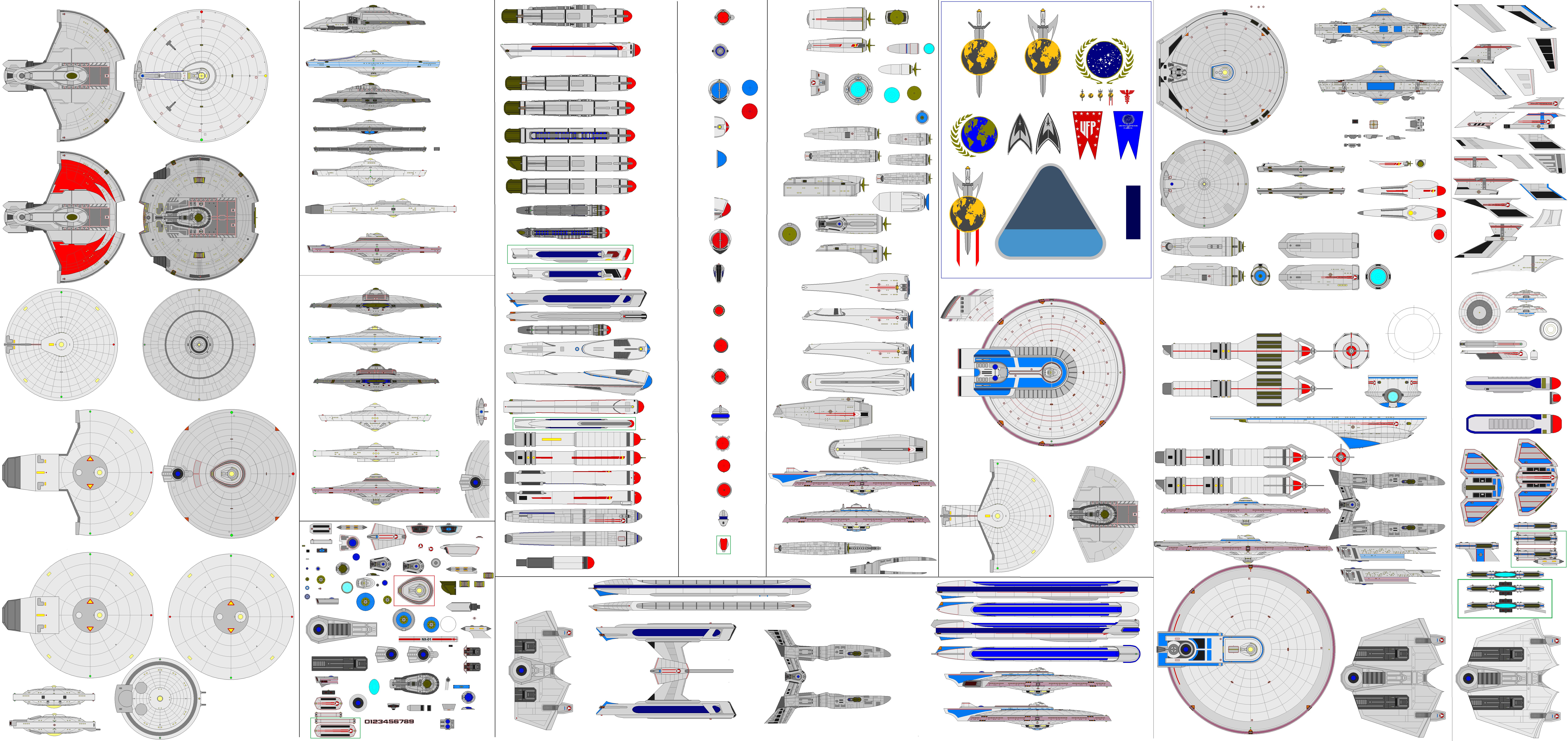 Star Trek Romulan Fulcrum ND1 Cruiser by LykanHybrid on