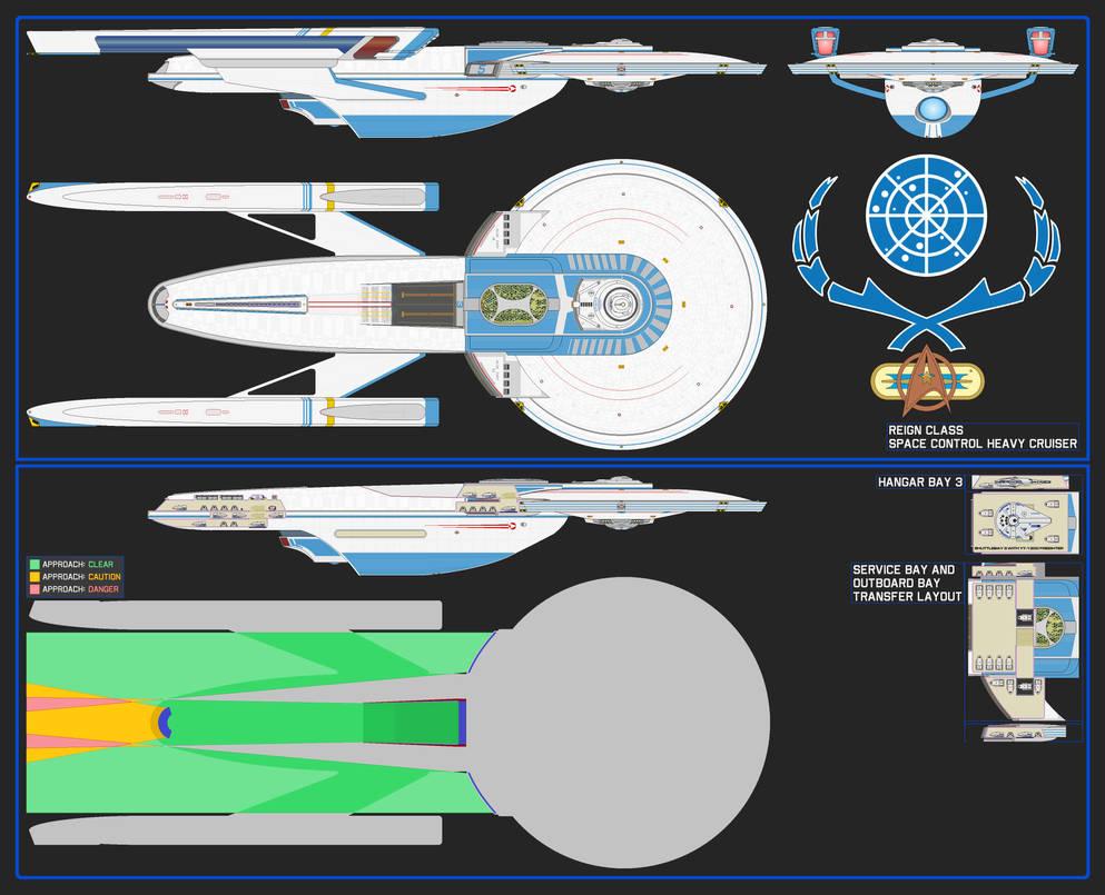 Space Control Heavy Cruiser - Reign Class