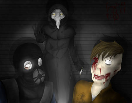 SCP-049 and others on SCP-049PlagueDoctor - DeviantArt