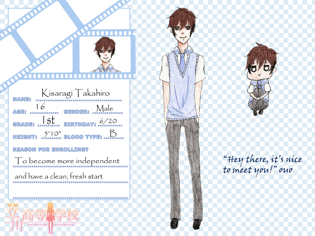 TH: Kisaragi Takahiro by alicec2246