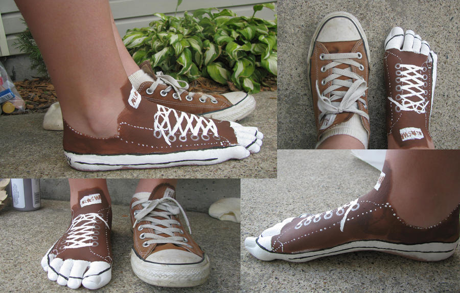 converse shoes painting. Black Bedroom Furniture Sets. Home Design Ideas