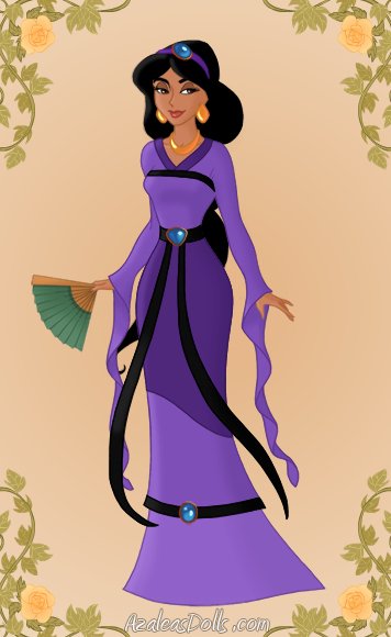 nightly elegance jasmine as mulan by midnightroses888 on